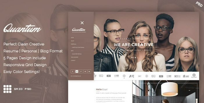 Horizon One Page and Multipage Webflow Template