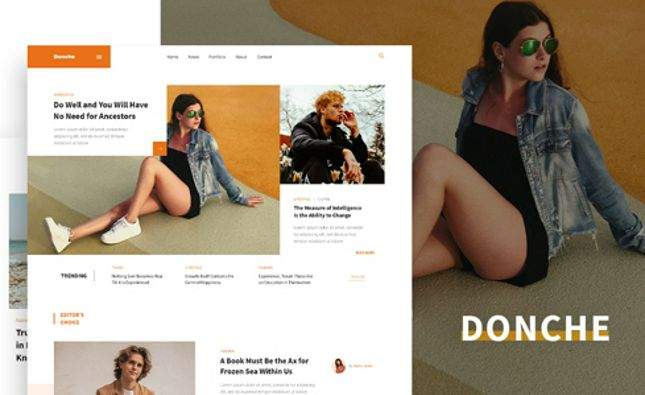 Da Porto - One Page Music & Band MODX Template