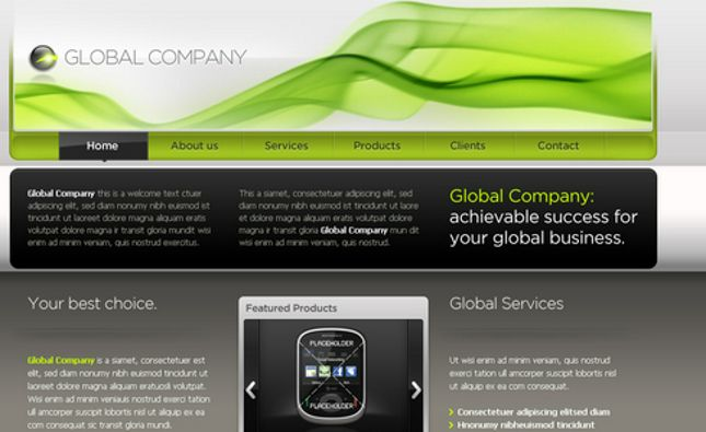 Screen - Responsive Onepage Business Joomla Theme