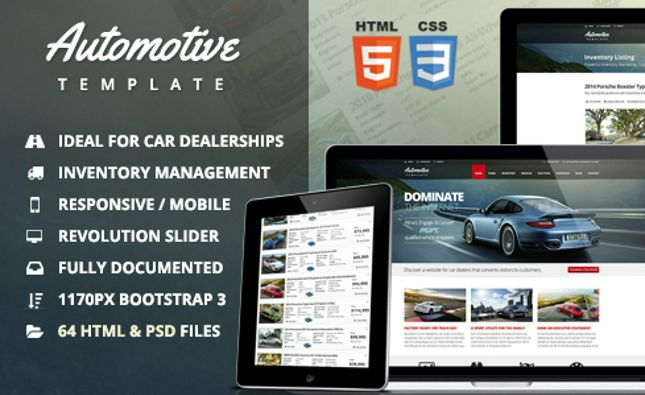Unlimited - Responsive Multipurpose PSD Template