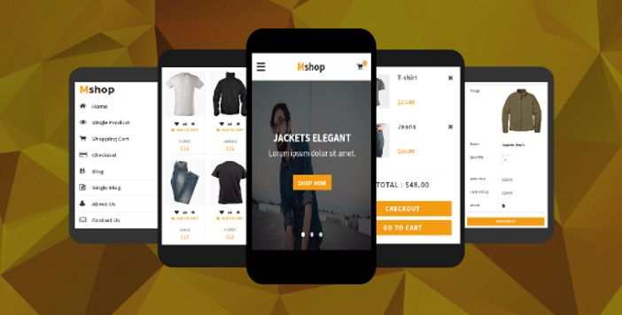 Shopea - eCommerce Mobile Template