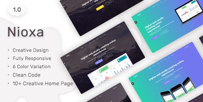Ping - Minimal Responsive HTML Template