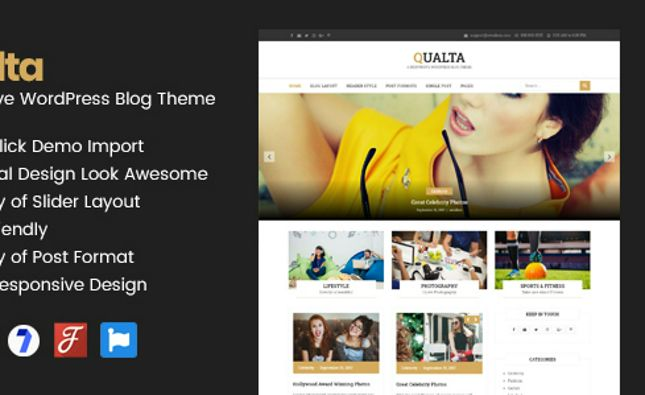 Arleomary - Responsive Travel/Lifestyle Blog - HTML Template