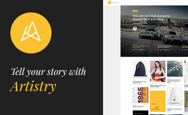 Mellany - WordPress Theme for Magazine / News / Blog
