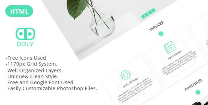 JC - One Page Portfolio PSD Template