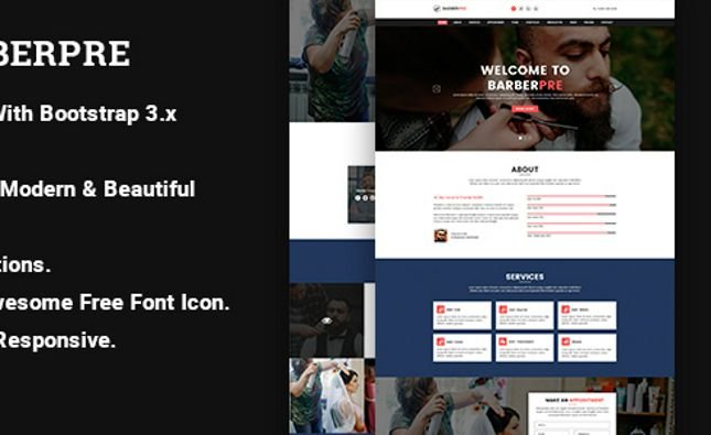 Imprecious - OnePage Responsive Personal Template
