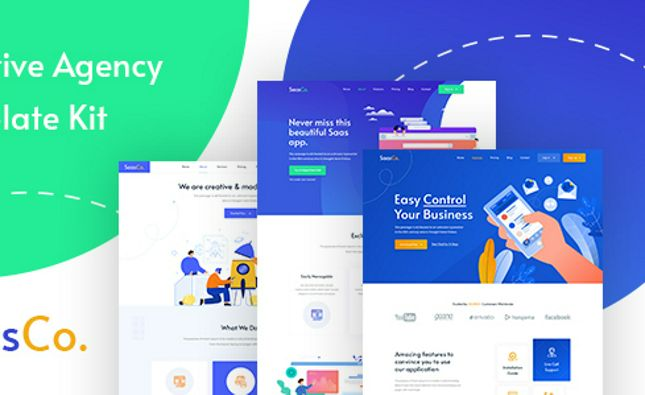 SUMMIT - Professional Business HTML5 Landing Page
