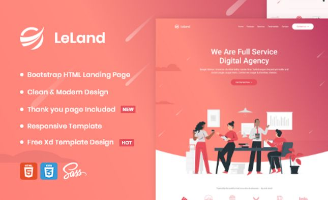 Appin - App Landing Page PSD