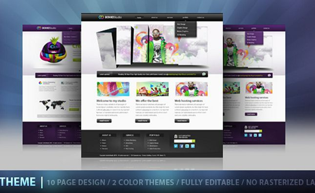 Pretty - Beautiful Creative Portfolio Template