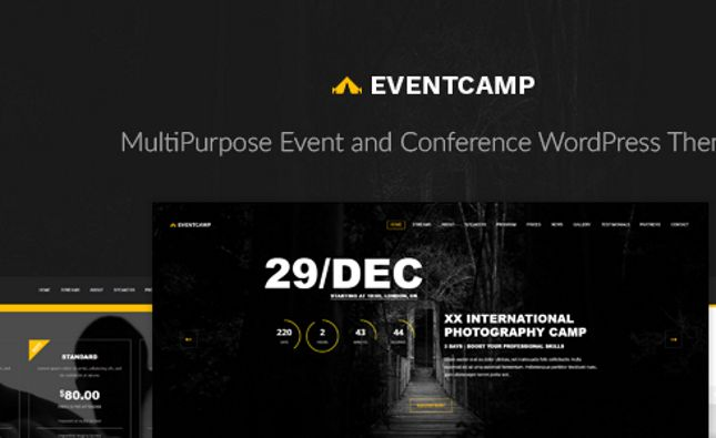 Campus - Education, Course, e-Learning and Events HTML Template