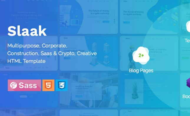 SaaSera - Startup/ Web Application/ Software as a Service PSD Template