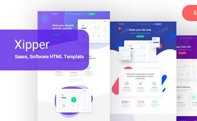 TheMan – simple onepage PSD template