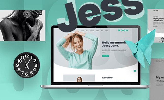 JD | Responsive Personal vCard / CV / Resume Template