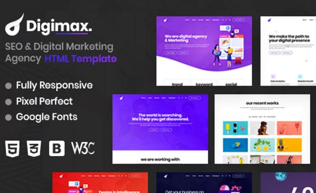 Set One - Multiperpose Corporate Business HTML5 Template