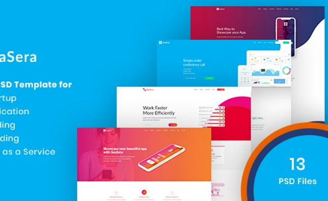 Galaxy - Responsive Landing Page